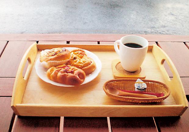 手づくりパン工房 かんばし内装