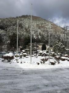 1月12日(金)天川村の積雪状況について