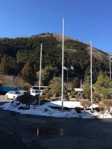 """月14日天川村の積雪の状況について"""""""